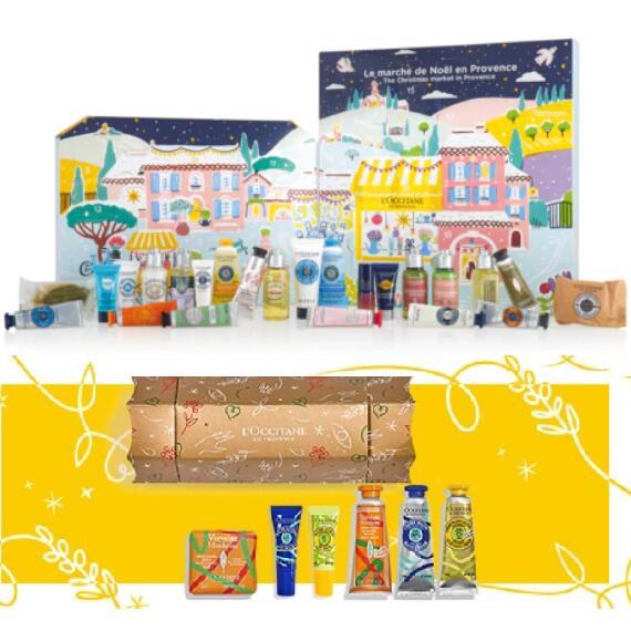 L'Occitane Classic Beauty Advent Calendar + Free Magic of Christmas Cracker (worth £21) + Free Sample Trio £53 delivered @ L'Occitane