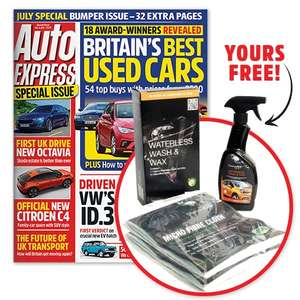 6 week magazine subscription of auto express plus free gift for £1