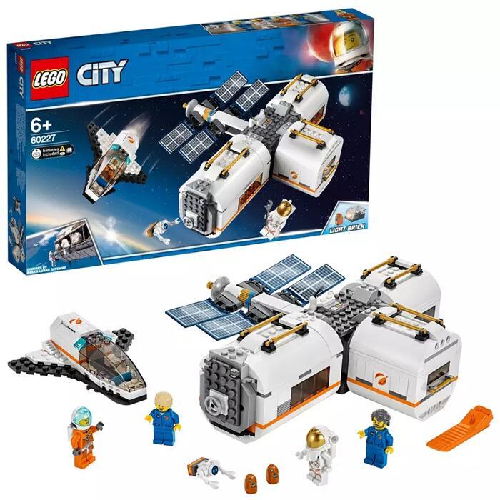 LEGO City Lunar Space Station Playset - 60227 - £30.59 Using Code @ Argos