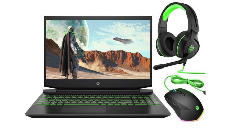 HP Pavilion 15.6in Ryzen 5 8GB 256 GB SSD gaming laptop bundle - Argos £649.99 @ Argos (Free Collection)