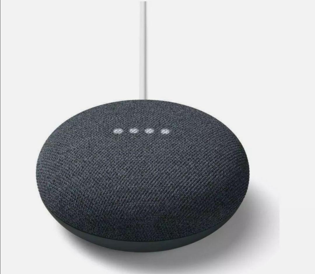 Refurbished Grade A+ GOOGLE Nest Mini 2nd Gen Charcoal Smart Speaker - £19.99 @ homeandgardenltd / Ebay