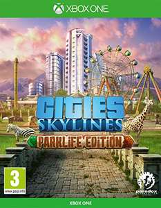 Cities Skylines: Parklife Edition (Xbox One) £14.99 (Prime) + £2.99 (non Prime) at Amazon