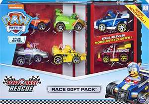 PAW Patrol True Metal Ready Race Rescue Die Cast Gift Pack of 6 £15 (Prime) + £4.49 (non Prime) at Amazon