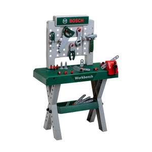 Kids Bosch Workbench X-Leg (Includes workbench and 39 pieces) - £24.99 delivered / Click & Collect @ Smyths