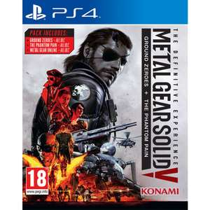 Metal Gear Solid V: The Definitive Experience Playstation 4 £8.95 @ The game collection