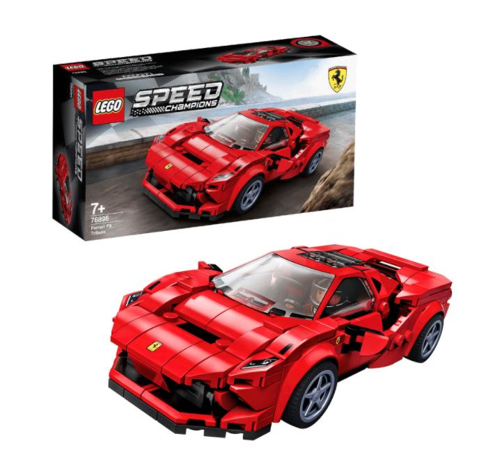 Lego speed champion Ferrari f8 76895 or Nissan GTR 76896 £13 @ Asda Wallington