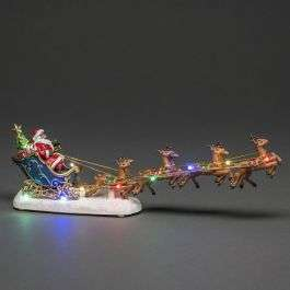 Konstsmide LED Father Christmas Sledge with Flying Reindeer £12.99 + £2.75 delivery @ charlies