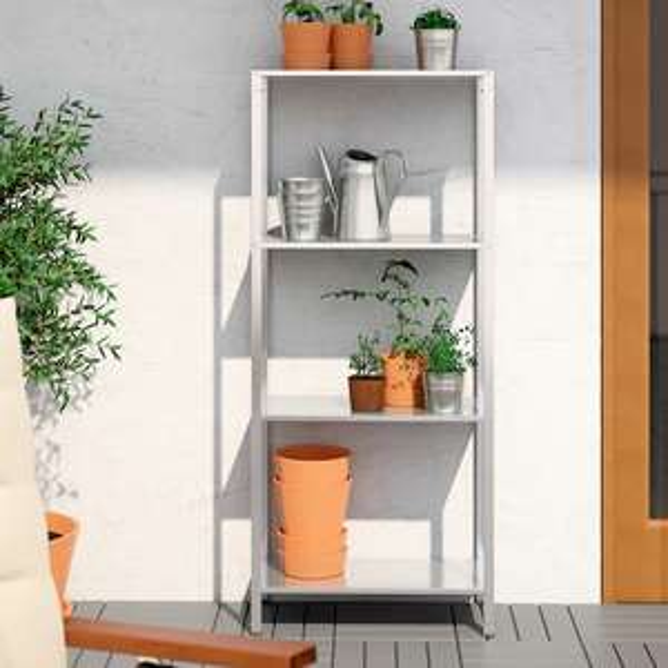 HYLLIS Shelving unit, in/outdoor 60x27x140cm - £10 @ IKEA