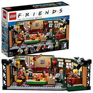 LEGO ideas 21319 Ideas Central Perk Friends TV Show with Cafe Studio and 7 Minifigures 25th Anniversary Collectors Set £48.39 @ Amazon