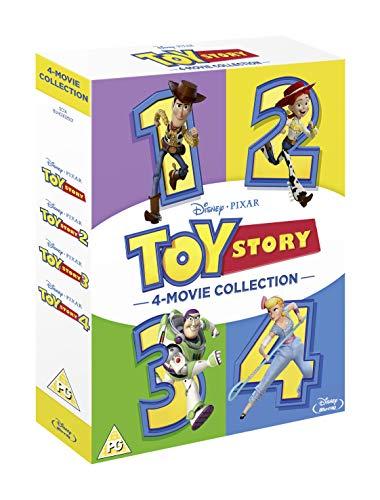 Toy Story 1, 2, 3, 4 Blu-ray Boxset £20 at Amazon