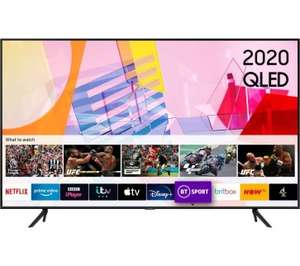 """Samsung QE50Q60T (2020 Model) 50"""" 4K Ultra HD QLED HDR TV with Voice Control £579.99 @ District Electricals"""