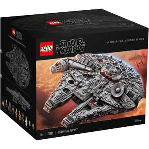 LEGO Star Wars 75192 Ultimate Collector Series Millennium Falcon £509.99 with code @ John Lewis & Partners