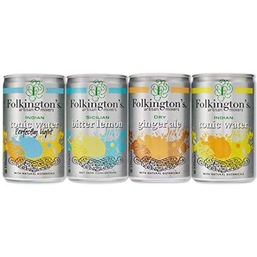Folkington's Folkingtons Tonic water 150ml x 24 £0.63 + 4.49 NP @ Amazon