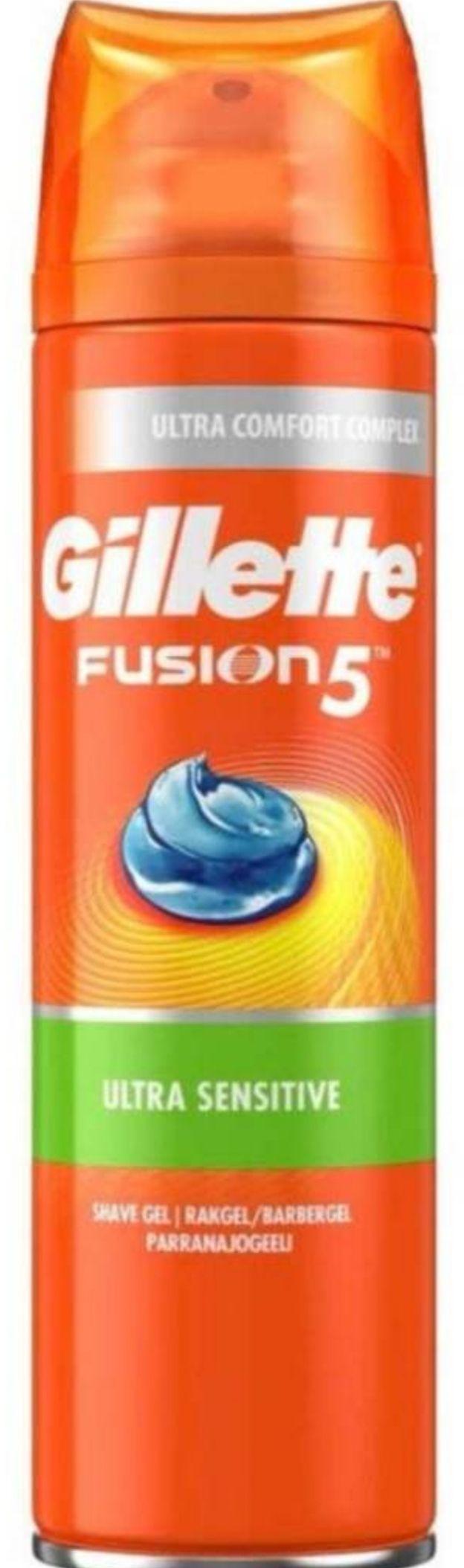 Gillette Fusion Ultra Sensitive Shaving Gel, 200ml (15% off on S&S) - £1.80 Prime / +£4.49 non Prime @ Amazon