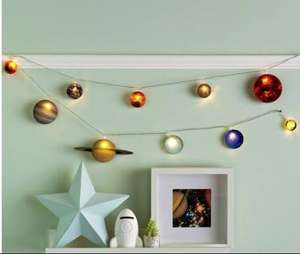 Fizz Creations Children's 2m Space String Lights now £6.66 @ Argos (Free Click & Collect)