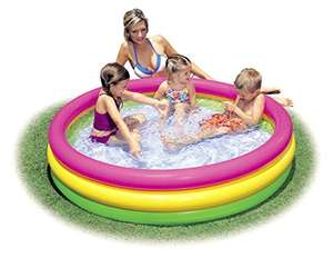 Intex 3-Hoop Inflatable Paddling Pool 147 x 33 cm £4.91 (Prime) + £4.49 (non Prime) at Amazon
