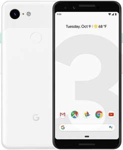 Pixel 3, clearly white, SnapDragon 845, 64gb storage, unlocked, grade B at CeX - £185