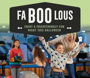 Halloween Deal - 3 games of Bowling, a Drink and Unlimited Nachos £9.99 Kids £13.49 adults (31st October only) @ Hollywood Bowl