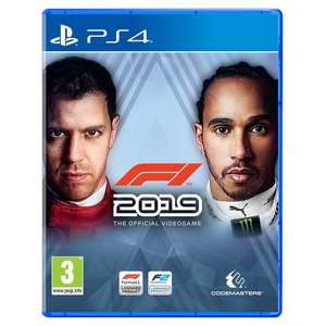 F1 2019 PS4 / Xbox One £12.99 free click and collect at Smyths Toys