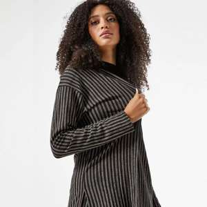 Black Striped Cardigan now £10.80 + Free Express delivery @ Dorothy Perkins