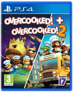 Overcooked! + Overcooked! 2 (PS4) for £11.99 @ Smyths (free click and collect)
