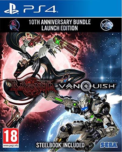 Bayonetta & Vanquish 10th Anniversary Bundle (PS4) - STEELBOOK included - £14.99 (+£2.99 Non Prime) @ Amazon
