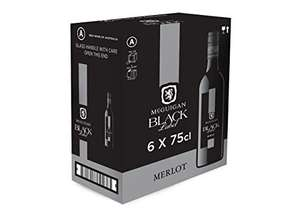 Mcguigan Black Label Merlot 75cl pack of 6 - £39 @ Amazon