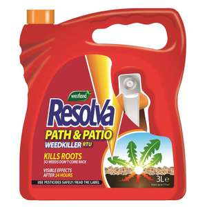Resolva Path & Patio Weedkiller Ready To Use - 3L for £5 @ Homebase (in-store)
