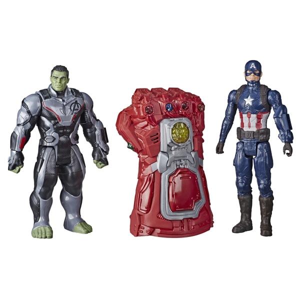 Marvel Avengers Gauntlet, Hulk & Captain America Set - £24.99 at Smyths