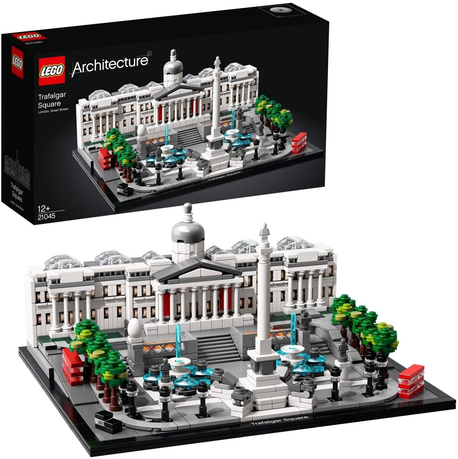 LEGO 21045 Architecture Trafalgar Square Building Set with London Landmark National Gallery £59 at Amazon