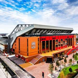 Liverpool FC Stadium Tour with Museum Entry £5 with code @ Buyagift