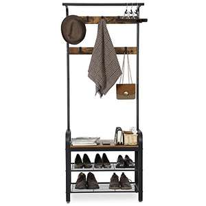 VASAGLE Coat Rack Stand, Free Standing Hall Tree, Coat Stand with Removable Hooks £36.99 Dispatched from and sold by Songmics