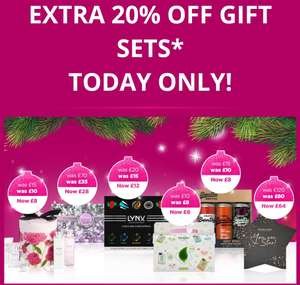 Save on Saturdays! Extra 20% off ALL Gifting on Saturday Only! Including those Already on Offer