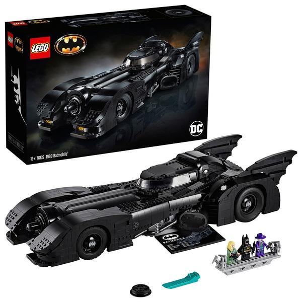 LEGO Batman 76139 DC Comics Super Heroes Batman 1989 Batmobile Set. £169.99 + Free delivery or click & collect at Smyths