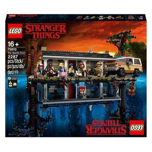 LEGO 75810 Stranger Things The Upside Down Toy Set £149.99 + Free click and collect available @ Smyths