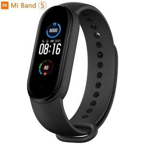 Xiaomi Mi Smart Band 5 Fitness Tracker AMOLED Screen - Black - £26.98 Delivered @ MyMemory