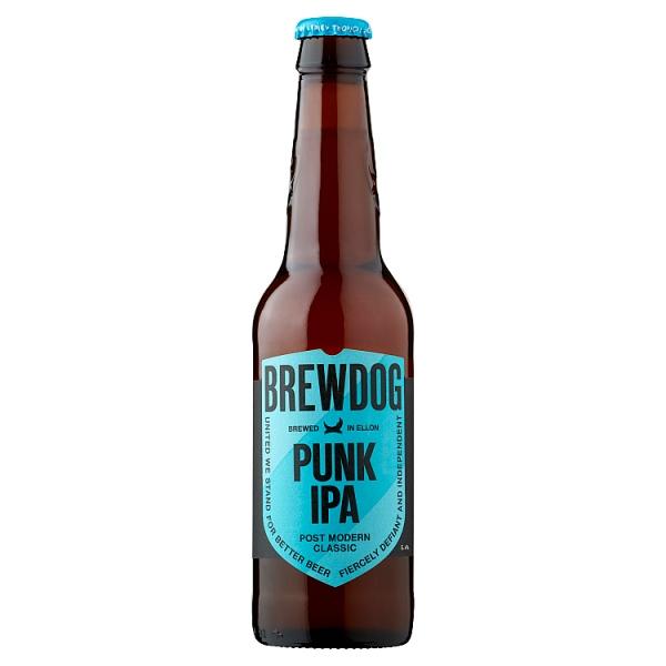 12x Brewdog Punk IPA 330ml bottles £11.98 @ Booker Derby