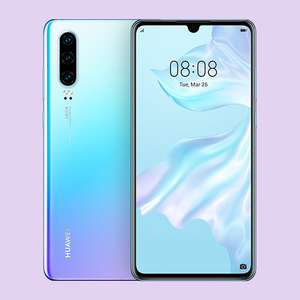 Huawei P30 on O2 Refresh £260.02 delivered @ O2 Shop
