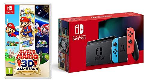 Nintendo Switch (Neon Red/Neon Blue) + Super Mario 3D All-Stars (Nintendo Switch) £309 Delivered @ Amazon