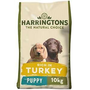 Harringtons Complete Dry Puppy Food Rich In Turkey & Rice 10 Kg £17.50 / £16.63 S&S + £4.49 NP @ Amazon