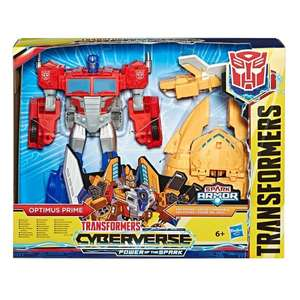 Transformers Cyberverse Ark Power Optimus Prime - £19.99 Prime (+£4.49 NP / Free delivery if You buy another item from description @ Amazon