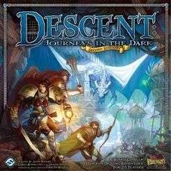 Descent (2nd edition) Board Game £53.68 with code @ playboardgames