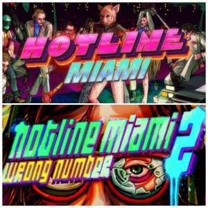 [Steam] Hotline Miami (PC) - £1.39 / Hotline Miami 2: Wrong Number - £2.39 @ Steam Store