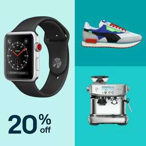 20% Off Selected eBay Sellers - £15 Min Spend / £75 Max Discount
