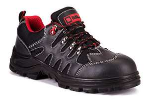 Black Hammer Mens Safety Boots Steel Toe Cap Shoes Work SIZE 5 ONLY £9.95 prime / £14.44 non prime Sold by Innovation Designs FBA