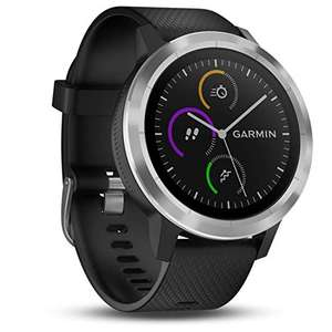 Garmin Vivoactive 3 GPS Smartwatch with Built-In Sports Apps and Wrist Heart Rate - Black | White £122.99 Delivered @ Amazon