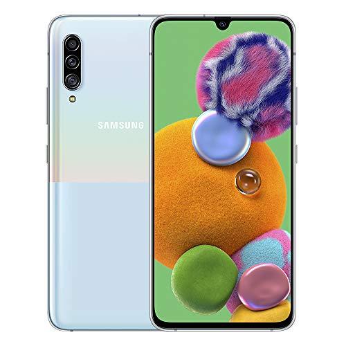 "Samsung Galaxy A90 5G 6.7"" Super AMOLED FHD+ Sim Free 6GB RAM, 128GB Smartphone - (Black/White) UK Version - £289 delivered @ Amazon"
