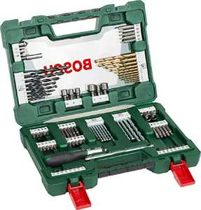 Bosch Drill and Screwdriver Bit Set with Ratchet Screwdriver and Magnetic Stick, 91 Pieces £11.35 @ Amazon Spain