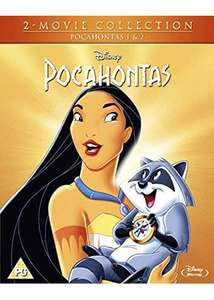 Pocahontas 1 & 2 Doublepack [Blu-ray] £7.99 delivered at Base