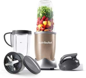 NutriBullet 900W Blender – Champagne Multi-Function Cold Beverage Smoothie Maker – 2 Cup Sizes and Stay Fresh Lid £67 Amazon